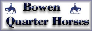 Quarter Horse Breeding & Sales at Bowen Farms